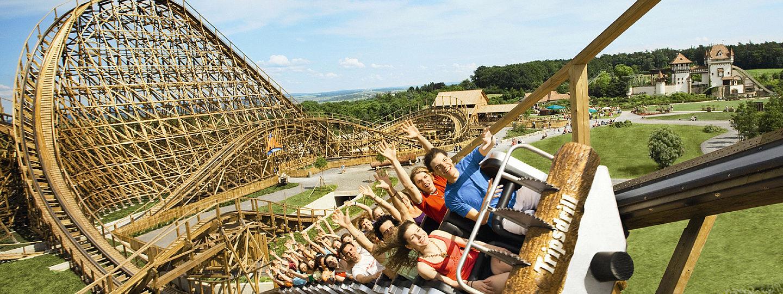 Erlebnispark Tripsdrill: Gruppen ab 5 Personen sparen 10 € pro Erwachsener an ausgewählten Samstagen