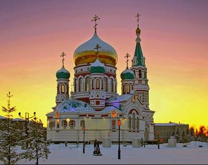 Flüge: Sibirien / Russland ( September - Mai ) Hin- und Rückflug von Düsseldorf, Berlin oder München nach Omsk ab 234€