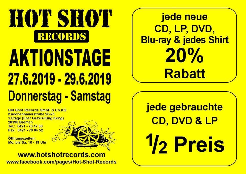 [Lokal: Bremen] 20% auf Vinyl, CDs, DVDs & 50% auf Gebrauchtes