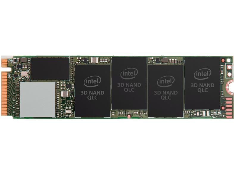 INTEL SSD der Produktreihe 660p, 512 GB SSD, intern, M.2