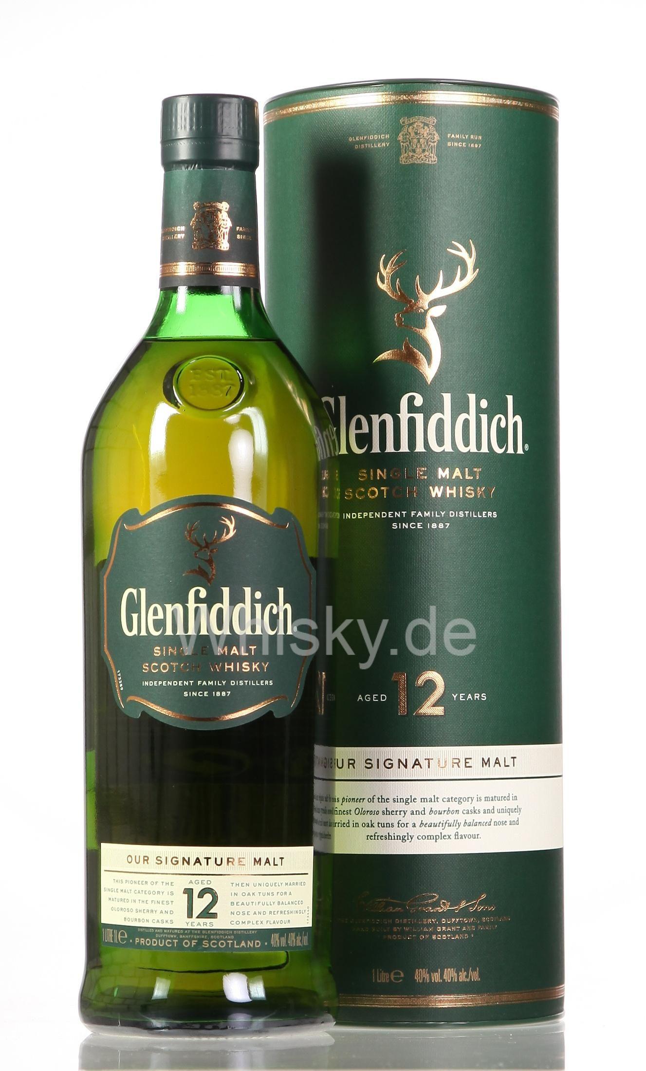 Glenfiddich 12 Jahre Single Malt Whisky (Prime) oder ab Montag bei real,-