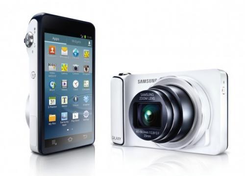 Samsung Galaxy Camera schwarz/weiß bei MediaMarkt und Saturn