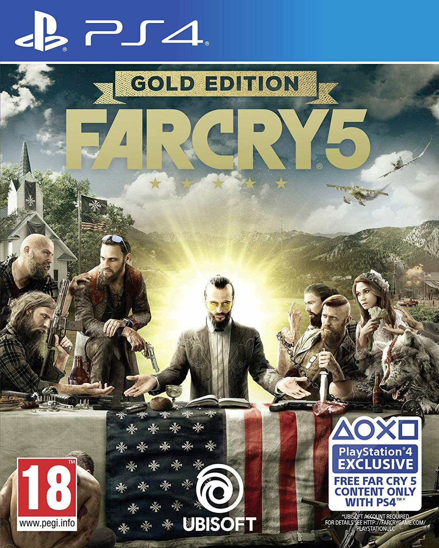 Far Cry 5 Gold Edition (PS4) für 23.98€ (Amazon UK)