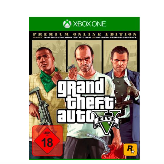 Grand Theft Auto 5 (GTA 5)Premium Online Edition für 15€ (Xbox One) [Saturn]