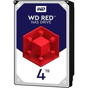 WD Red WD40EFRX 4TB 4000 GB, SATA III, 6000 Mbit/s, 5400 rpm, 64 MB, 3.50 inches