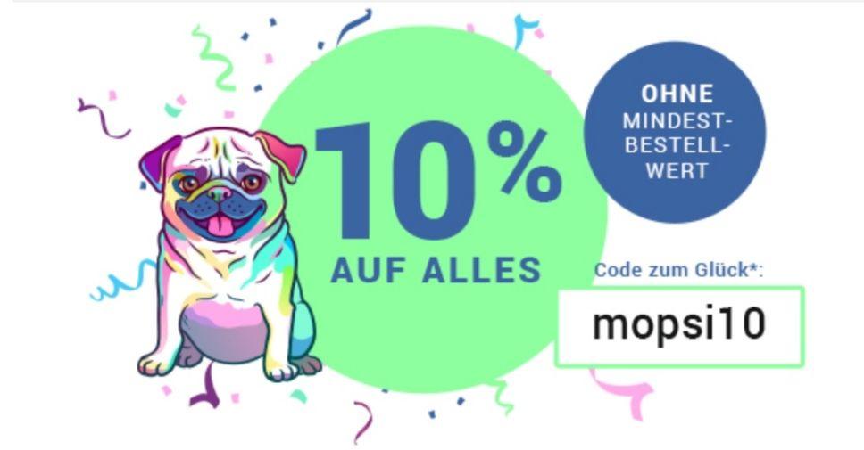 10% auf Alles - Ohne Mindestbestellwert! [Medimops.de]