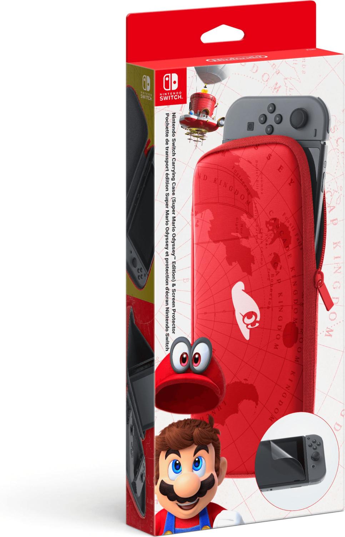 Nintendo Switch Tasche & Schutzhülle (Super Mario Odyssey) für 10€ versandkostenfrei (Saturn)
