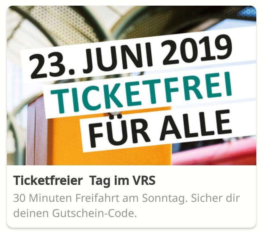 """LOKAL VRS Gebiet: nur heute 30 Minuten kostenlos ein """"nextbike"""" ausleihen"""