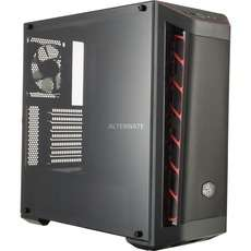 (Alternate) Cooler Master MasterBox MB511 Mesh, schwarz/rot Tower-Gehäuse