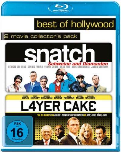 Snatch - Schweine und Diamanten & Layer Cake Best of Hollywood Collection (2 Disc Blu-ray) für 8,31€ (Amazon Prime)