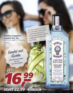 [REAL,-] Bombay Sapphire English Estate London Dry Gin (1 x 0,7l)