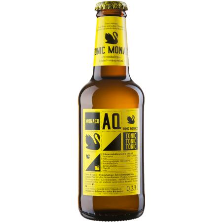 Aqua Monaco Bio - Tonic Water / Ginger Ale / Cola und mehr - 0,23l Flasche bei [denn's Biomarkt]
