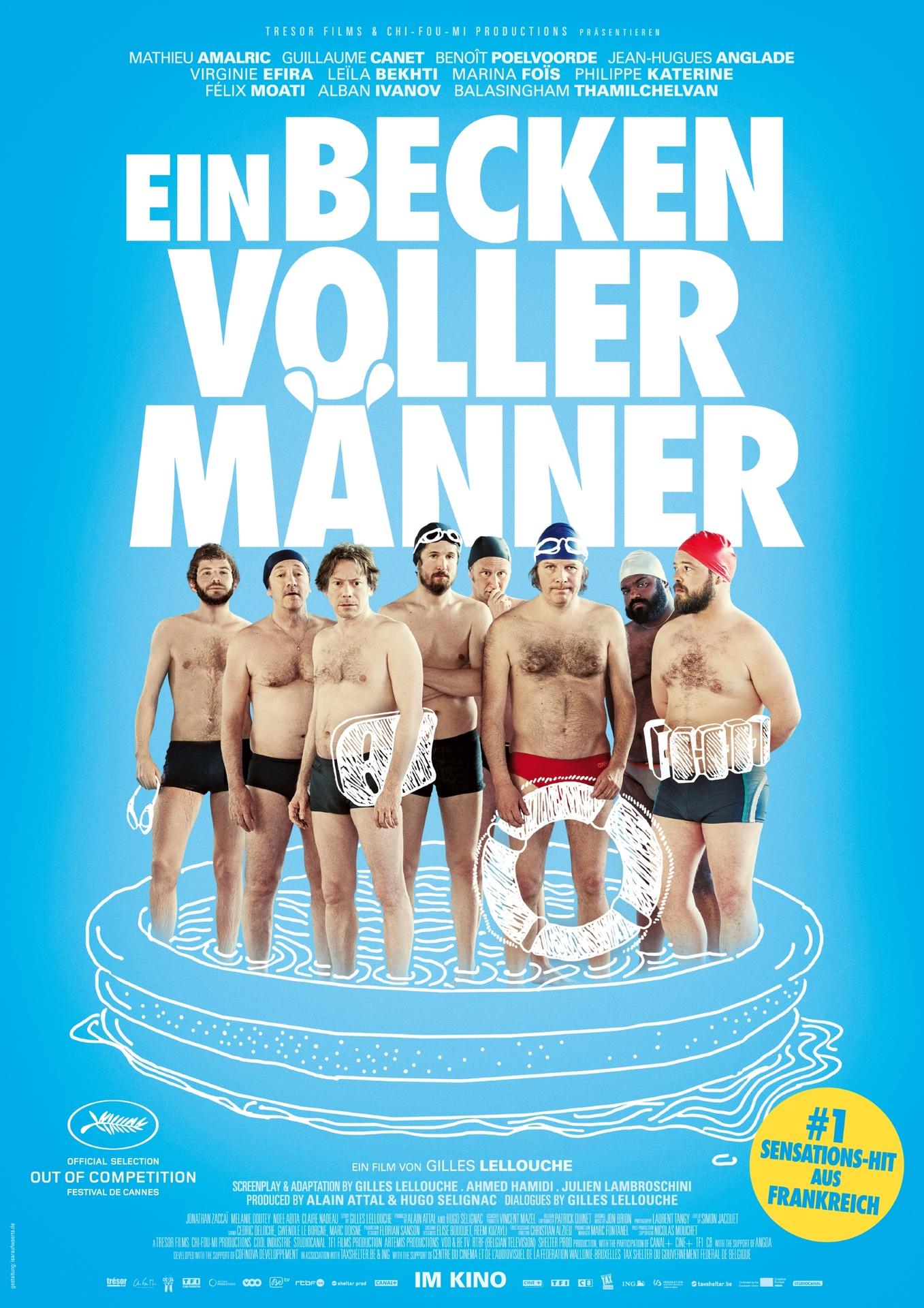 [ KINO PREVIEW ] Ein Becken voller Männer am 24.06. um 20.00 (50 Ct / 2 Karten / 5 Städte)