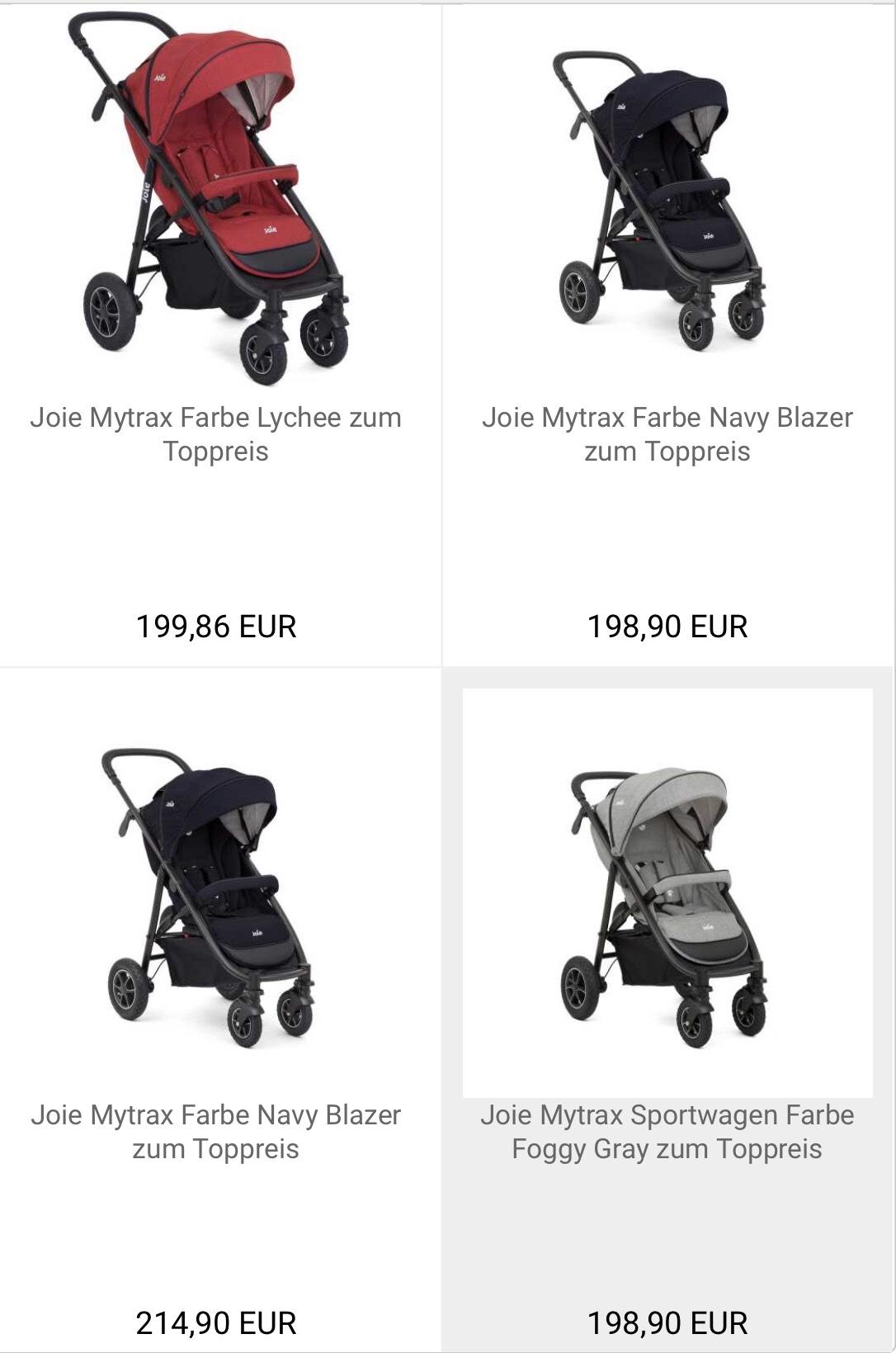 Joie Mytrax Buggy/Sportwagen