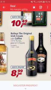 BaileysOriginalIrish CreamOder Kaffee -0.7L bei Real