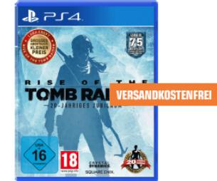 Lagerräumung bei Saturn.de - Playstation 4 Spiele im Angebot - z.B. Rise of the Tomb Raider - 20-Jähriges Jubiläum (PS4) für 15€