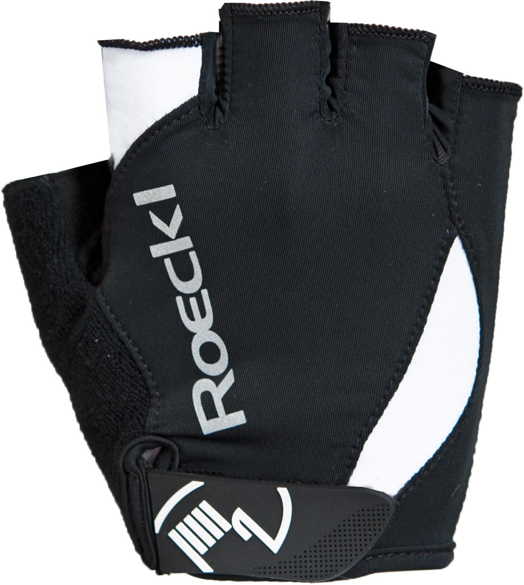 """Roeckl™ - Radhandschuh """"Baku"""" (Black-White, Größe 7/8/9) ab €4,78 [@Karstadt.de]"""