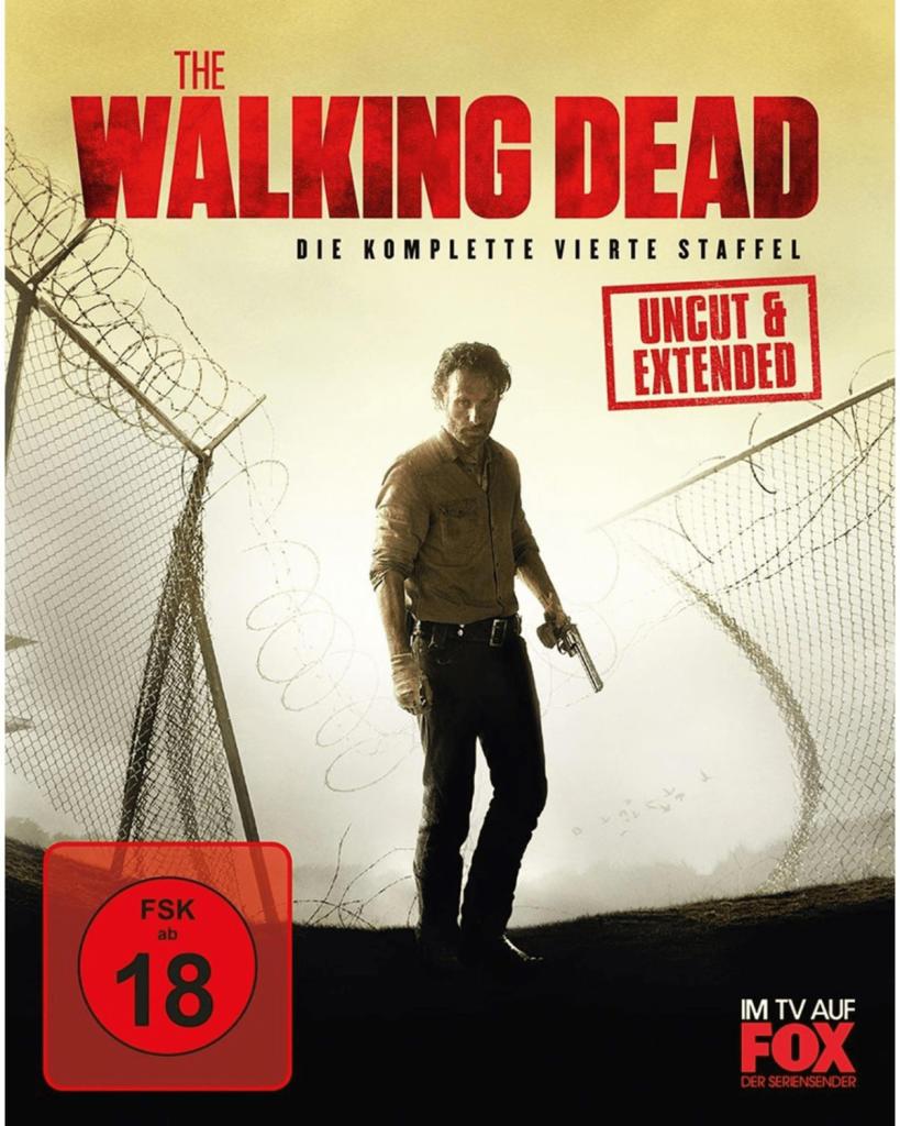 The Walking Dead - Die komplette vierte Staffel Uncut/Limitiert (Blu-ray) für 7€ versandkostenfrei (Saturn)