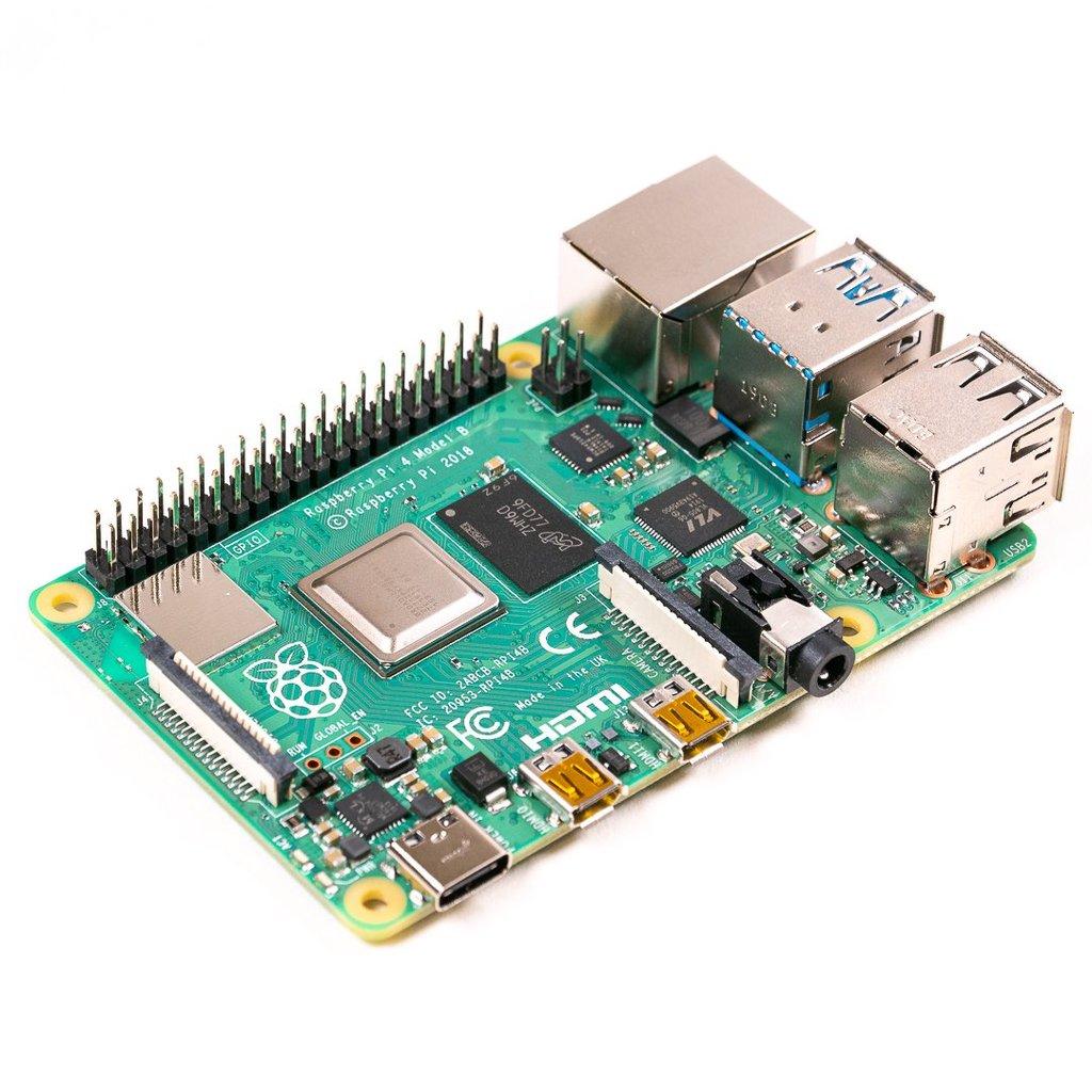 Raspberry Pi 4 Model B 4GB RAM USB3.0 Gigabit LAN WIfi ac (RPi 3+ jetzt 22€)