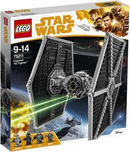 LEGO Star Wars - Imperial TIE Fighter (75211) für 34.26€ (Amazon.es)