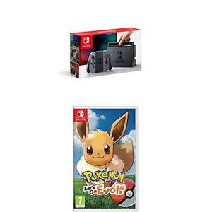 Nintendo Switch + Pokémon : Let's Go Evoli für 287,56€ inkl. Versand (Amazon.fr)