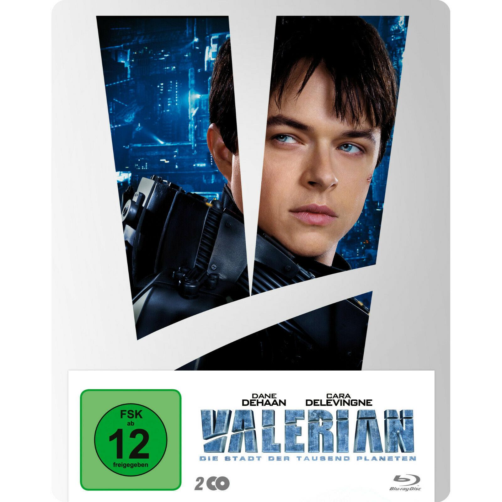 Valerian - Die Stadt der tausend Planeten Limited Steelbook Edition (2 Discs Blu-ray) für 12€ versandkostenfrei (Saturn)