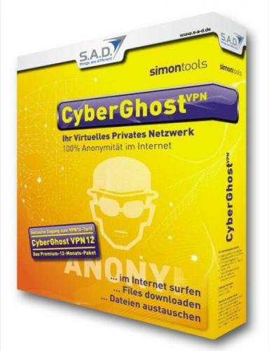 Cyberghost Premium Plus 1 Jahr + T-Shirt für ca.19€