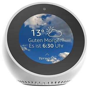 [Reichelt Elektronik] Amazon Echo Spot - weiß - Lautsprecher, Sprachsteuerung, Amazon Alexa (Paydirekt)