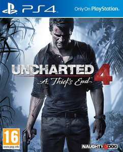 Uncharted 4: A Thief's End (PS4) für 9,99€ (Coolshop)