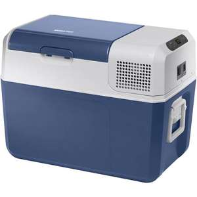 MobiCool FR40 AC/DC Kühlbox EEK: A+ (A+++ - D) Kompressor 12 V, 24 V, 230 V Blau, Grau 38l