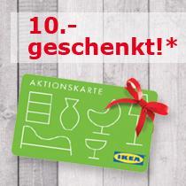 [Ikea Sindelfingen] Wer als Nikolaus kommt, bekommt 10 € Geschenkkarte gratis am 1.12