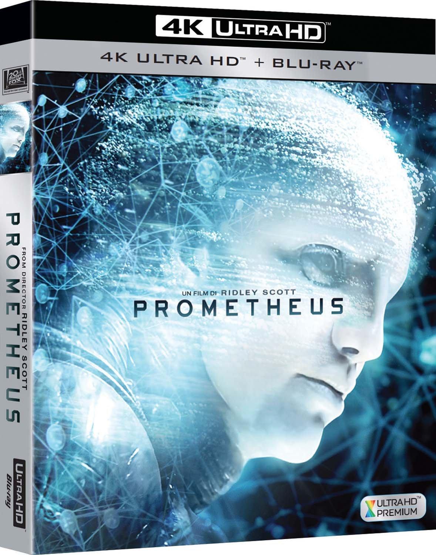 Prometheus - Dunkle Zeichen (4K Ultra HD Blu-ray) für 13,97€ inkl. Versand (Amazon.it)
