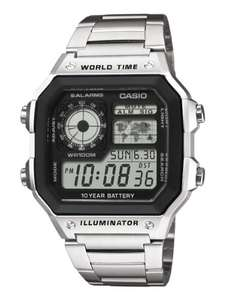 Casio World Timer AE-1200WH - James Bond