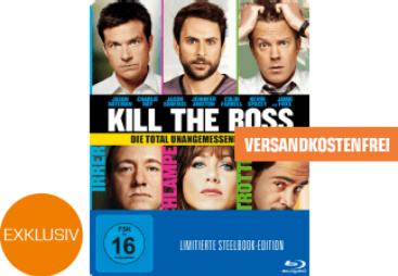 Kill the Boss (Steelbook) - (Blu-ray) für 5€ inkl. Versand (Saturn)