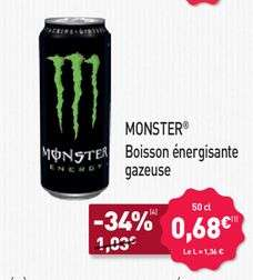 [Aldi Frankreich] Monster Energy 0,5l (ab 28.6.)
