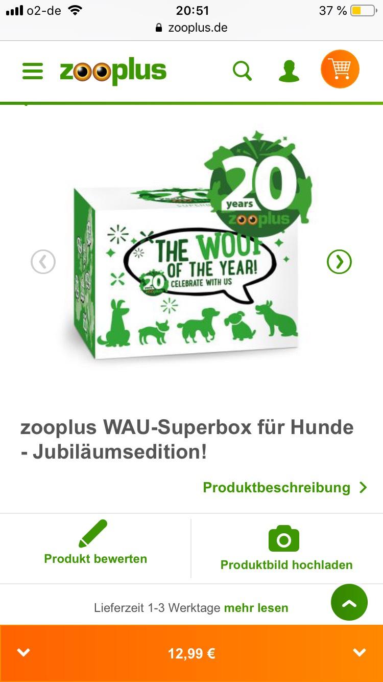 [Zooplus] 18-teilige WAU-Superbox