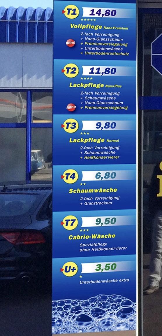 (Lokal Kiel) Autowäsche