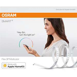 [Reichelt Elektronik] Osram Smart+ Flex RGBW 180cm - Bluetooth LED-Stripe, dimmbar, warmweiß, tageslicht (2000K-6500K), HomeKit (Paydirekt)