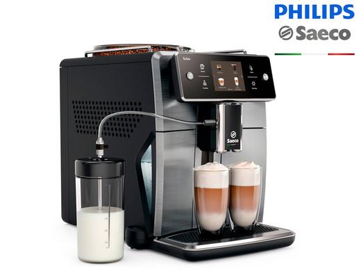 "Philips Saeco Kaffeevollautomat ""SM7684/00 Xelsis"" (15 Kaffeespezialitäten, AquaClean Filter, 1.7 L Wasserbehälter) [iBOOD]"