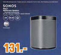 [Regional Saturn Herford/Bad Oeynhausen] Sonos PLAY:1 Kompakter Multiroom Smart Speaker Schwarz oder Weiß für je 131,-€