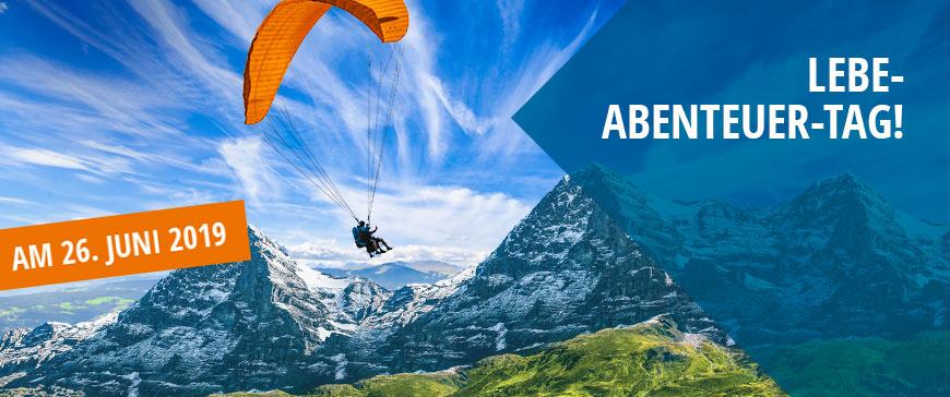Lebe-Abenteuer-Tag bei JOCHEN SCHWEIZER 26. Juni