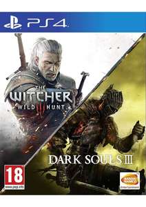 The Witcher 3 Wild Hunt & Dark Souls III Compilation (PS4) für 23,89€ (Gameware)