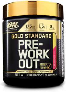 [Prime]  Optimum Nutrition Gold Standard Pre Workout Energie Booster Pink Lemonade