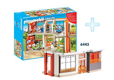 Verschiedene Playmobil Bundle zb. die Kinderklinik + Erweiterung