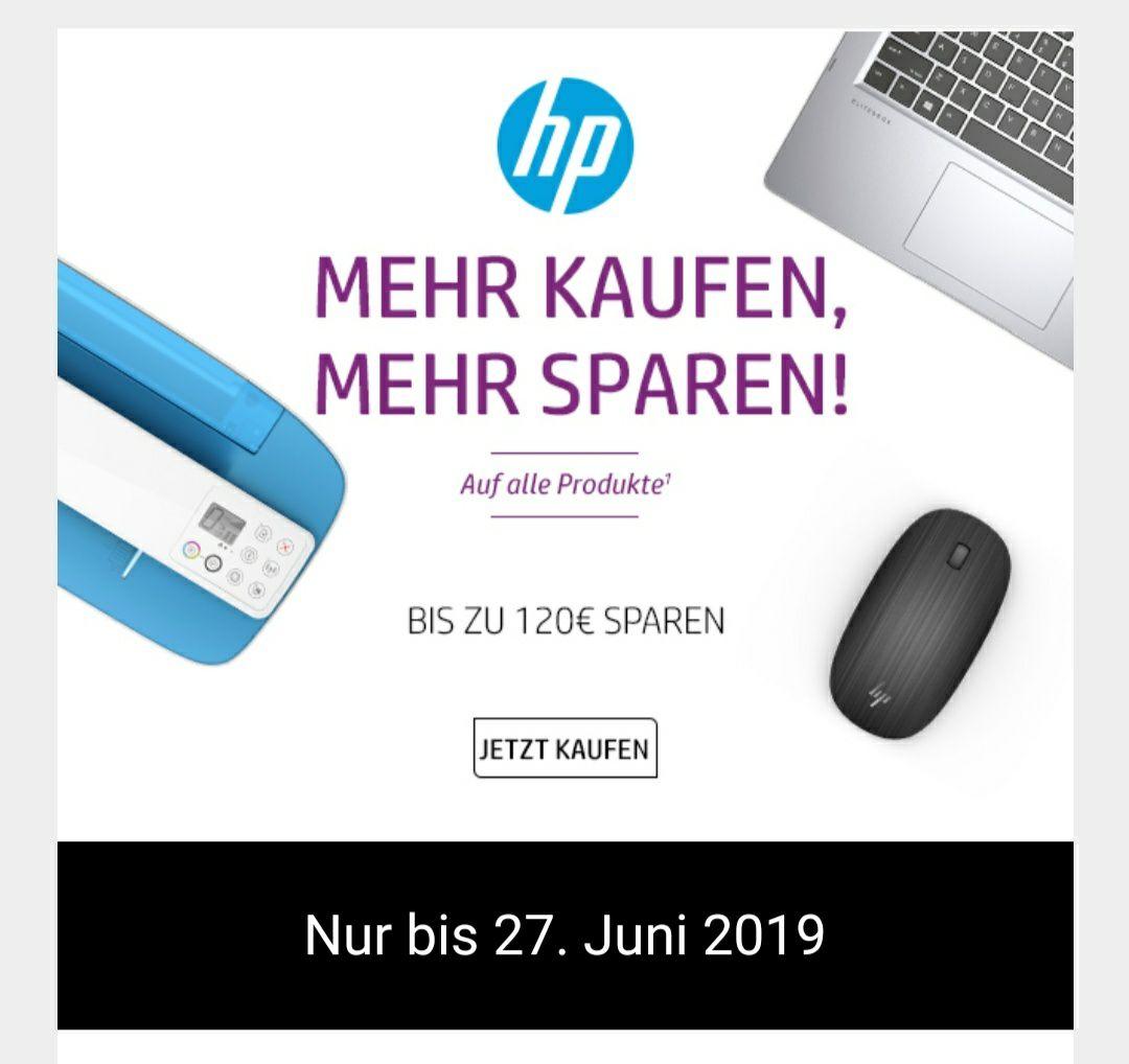 [HP Online Store] ca. 10% Rabatt auf Alles - abhängig vom Warenwert/-korb