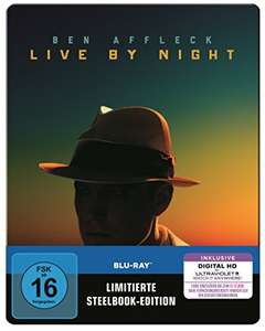 Live by Night Steelbook Limited Edition (Blu-ray + UV Copy) für 4,57€ (Amazon Prime)