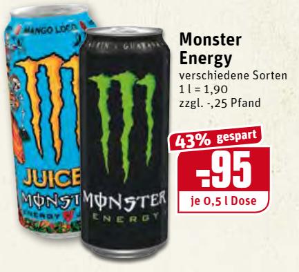 [REWE Dortmund] Monster Energy Drink