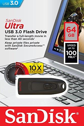 SanDisk Ultra 64GB USB-Stick 3.0 bis 100MB/s