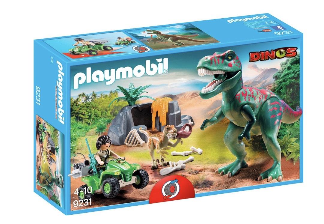 Playmobil 9231 T-Rex Angriff inkl. Versand