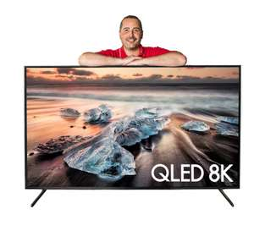 (SCHWEIZ) 65-Zoll-QLED-8K-TV Samsung QE65 Q900